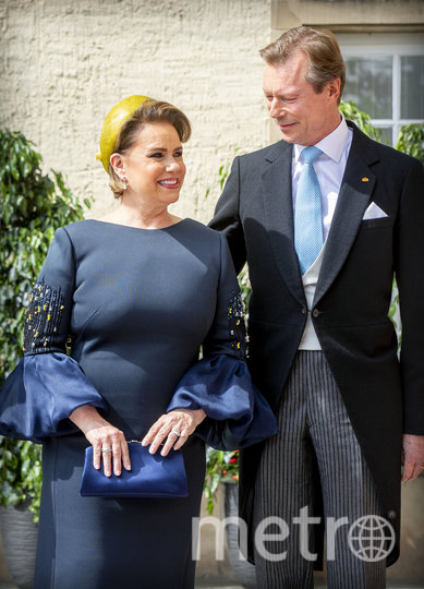 Великий герцог Люксембурга Анри с супругой Марией-Терезой. Фото Getty