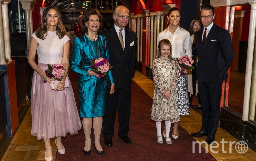 Королевская семья Швеции. Фото Getty