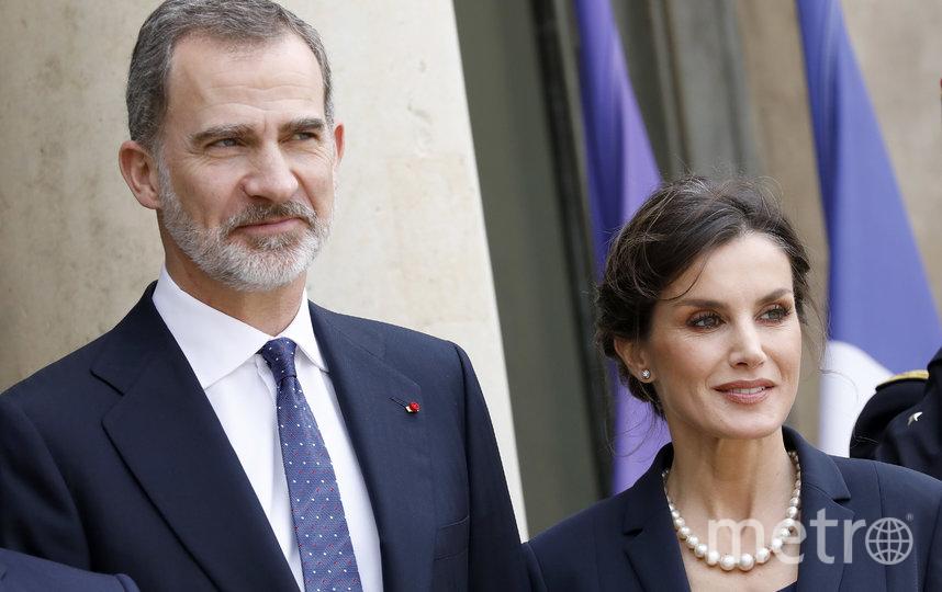 Король Испании Филипп VI с супругой Летицией. Фото Getty