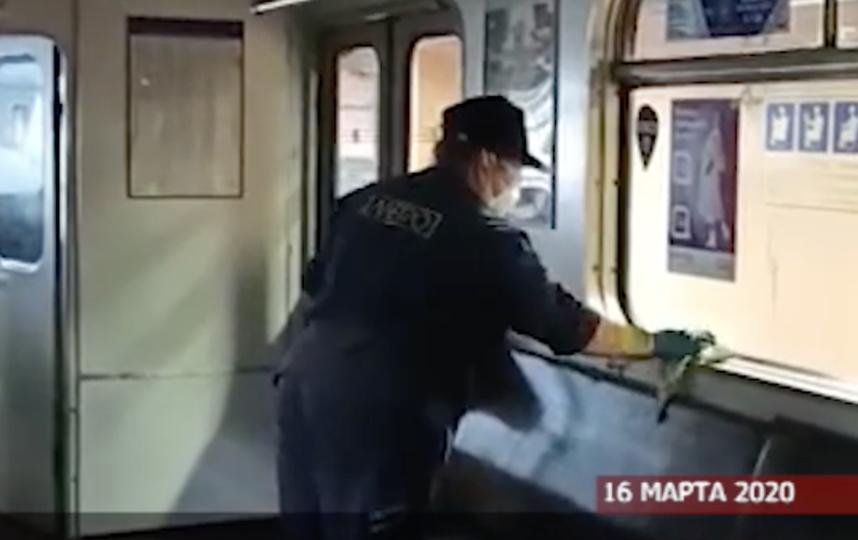 Скриншот видео метрополитена. Фото vk.com