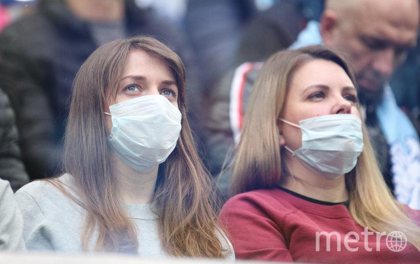 Болельщицы на матче «Зенит» – «Урал» на «Газпром Арене». Фото Getty