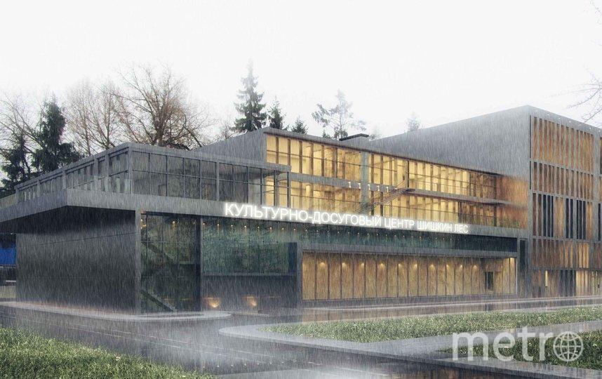Проект центра. Фото Моспроект-2, предоставлено пресс-службой Москомархитектуры