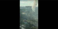 Людей нет: МЧС о пожаре в Покровской больнице в Петербурге