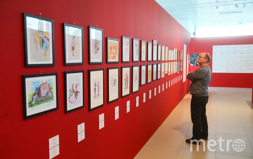 Выставка к 100-летию Федерико Феллини открылась в Музее кино. Фото Василий Кузьмичёнок