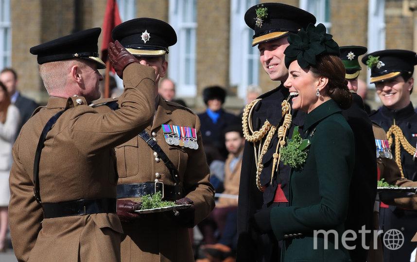 Кейт Миддлтон и принц Уильям на параде св.Патрика в 2019-м году. Фото Getty