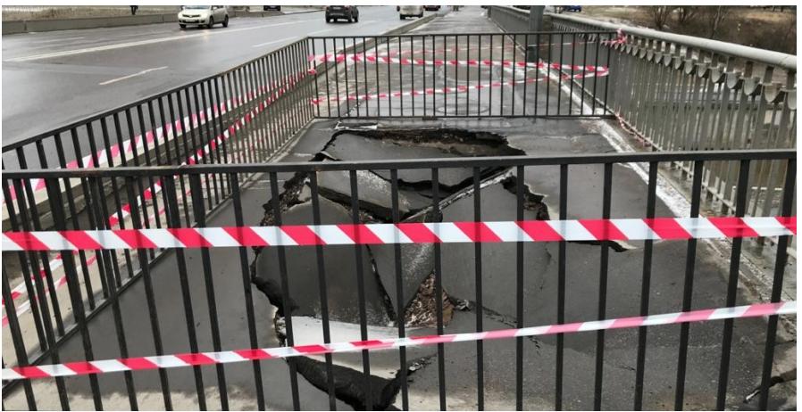 """Мост в Рыбацком восстановили. Фото """"Мостотрест"""" / mostotrest-spb.ru"""