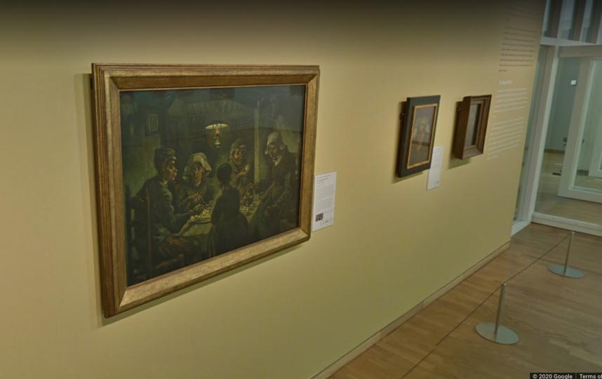 Пройдя по ссылке artsandculture.google.com/partner/van-gogh-museum, вы сможете совершить виртуальную экскурсию по музею Ван Гога в Амстердаме (Van Gogh Museum). Фото artsandculture.google.com