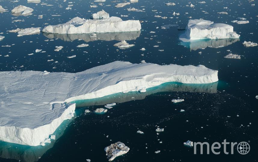 В прошлом году Гренландия потеряла 600 млрд тонн льда. Фото Getty