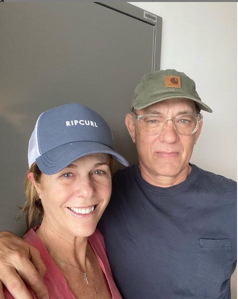 Том Хэнкс с женой. Фото https://www.instagram.com/tomhanks/