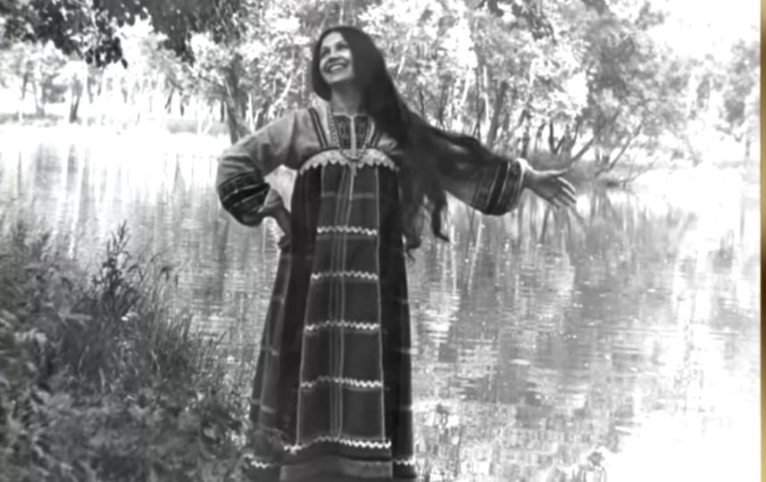Надежда Бабкина в молодости. Фото Скриншот Youtube