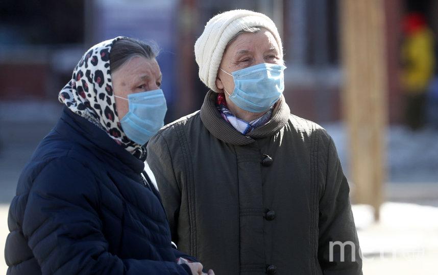 Пожилые люди в период пандемии коронавируса особенно уязвимы. Фото Getty