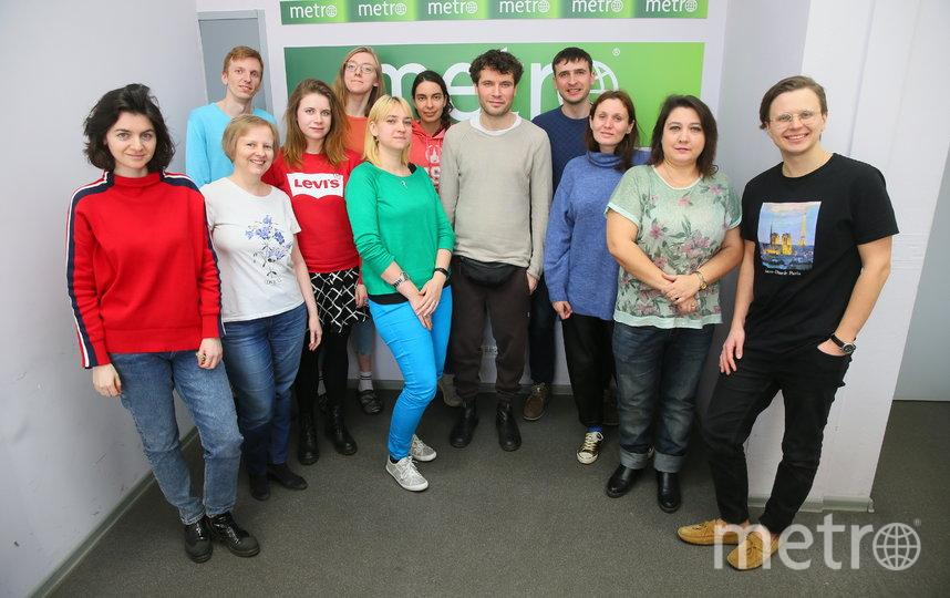 Павел Артемьев в редакции Metro-Москва. Фото Василий Кузьмичёнок