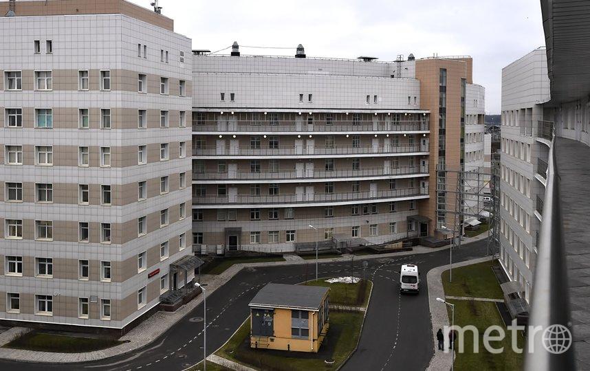 """Паациенты находятся в инфекционном отделении в Боткина. Фото """"Metro"""""""