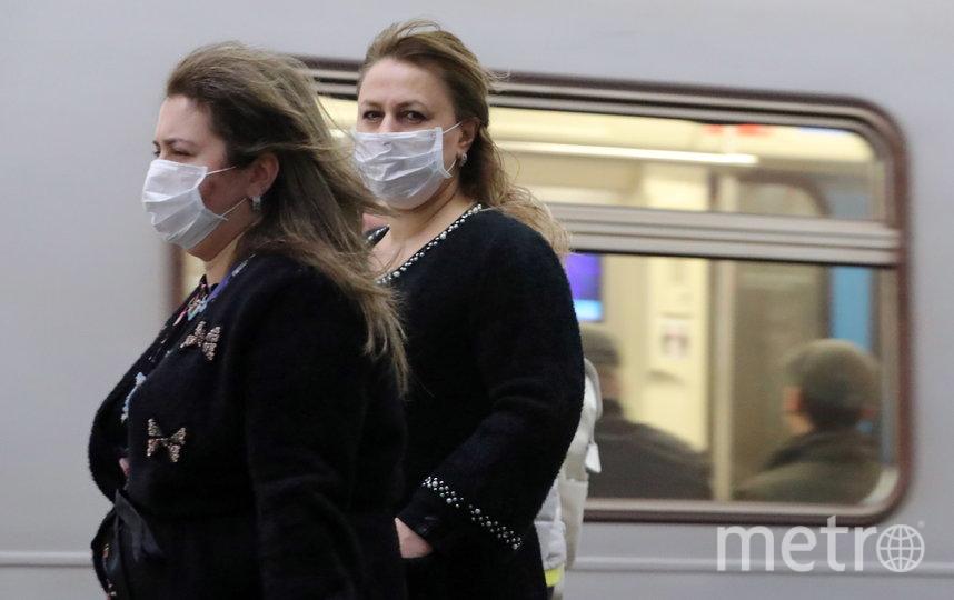 Поездок на метро и МЦК в Москве среди взрослого работающего населения стало меньше на 30% на фоне коронавируса. Фото Getty