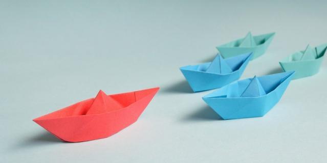 Создайте оригами.