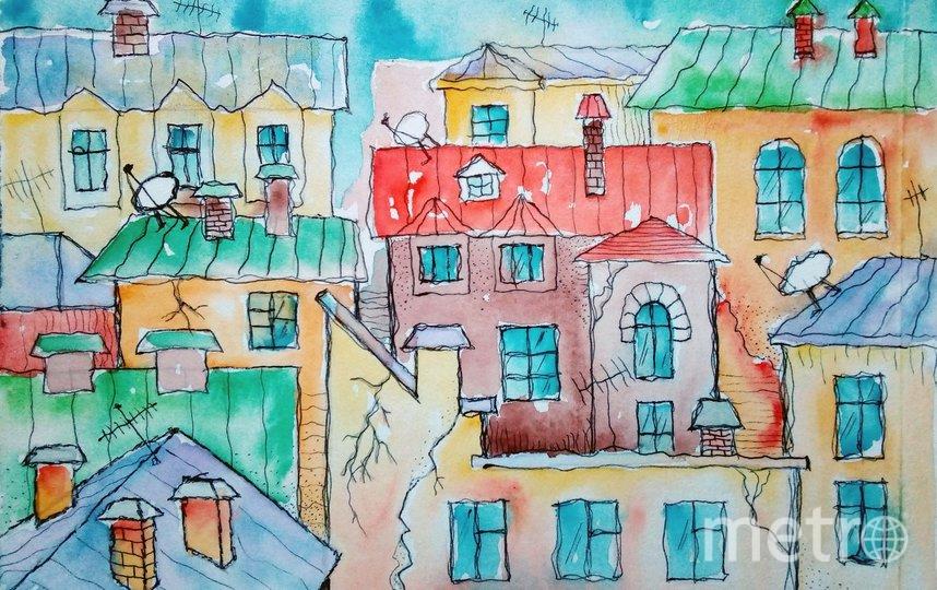 Нарисуйте сказочный город. Фото pixabay.com