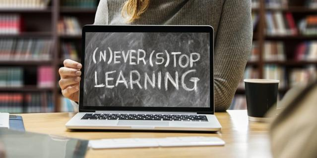 Не переставайте учиться.