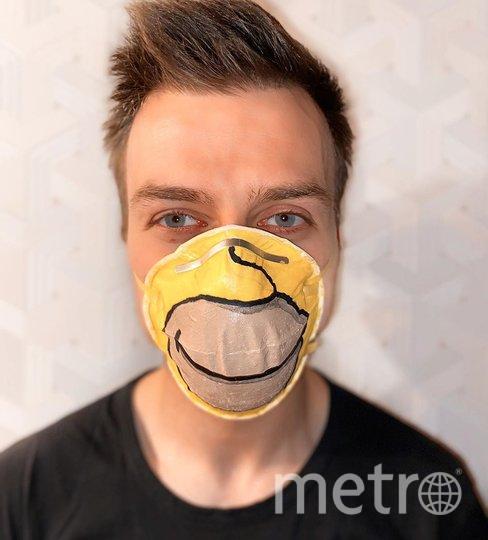 """Часть денег от каждой маски перечисляют в благотворительный фонд. Фото Mask4us, """"Metro"""""""