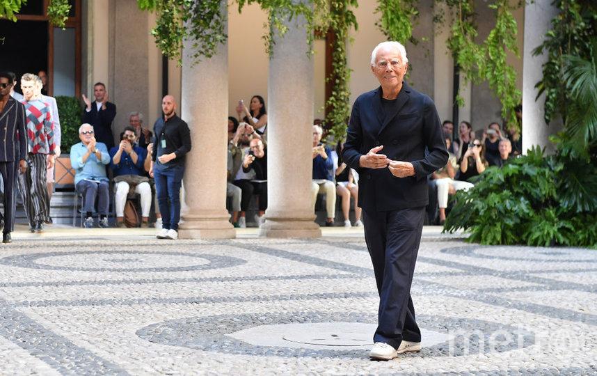 Джорджо Армани. Фото Getty