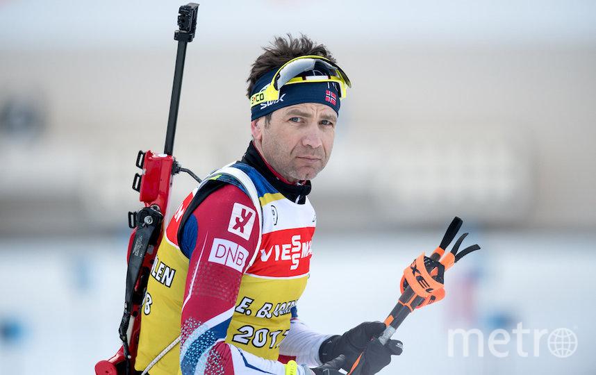 Уле-Эйнар Бьорндален. Фото Getty