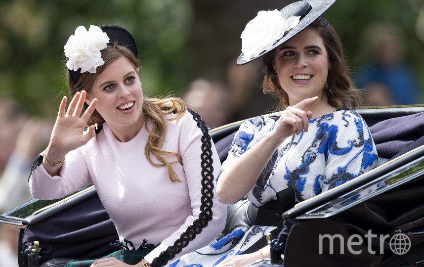 Принцесса Евгения (справа) и её сестра принцесса Беатрис (слева). Фото Getty