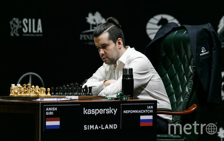 Ян Непомнящий на турнире в Екатеринбурге. Фото Getty