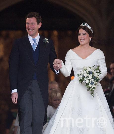 Свадьба принцессы Евгении и Джека Бруксбэнка состоялась 12 октября 2018 года. Фото Getty