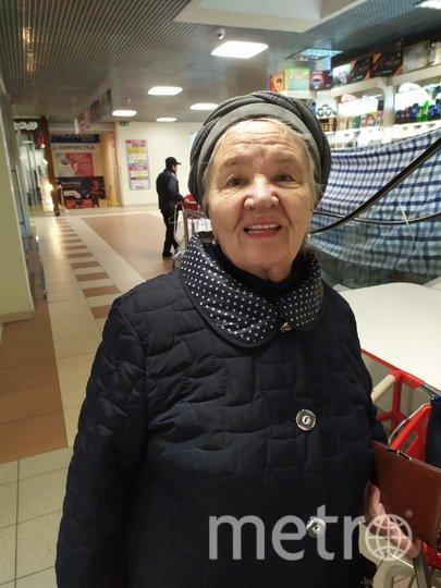 "Людмила Сергеевна, 82 года. Фото ""Metro"""