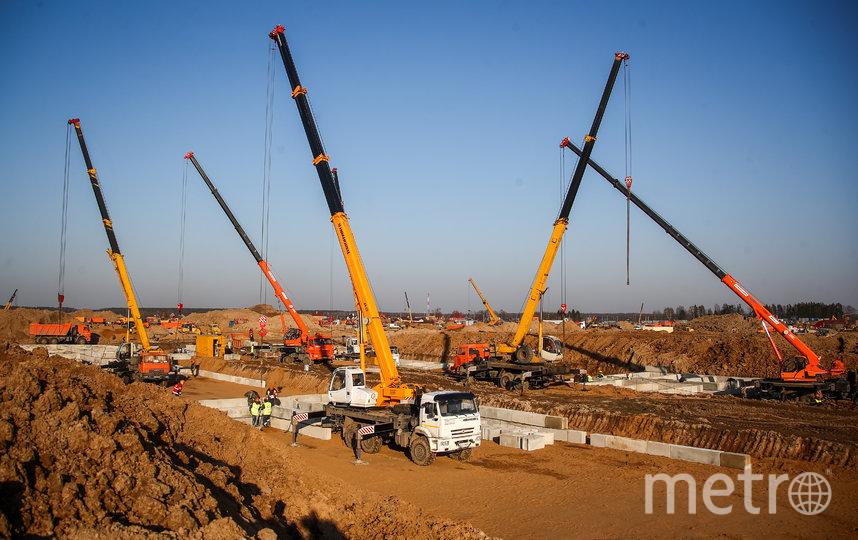 Строительство инфекционной больницы в поселении Вороновское закончат в ближайшие недели. Фото Getty