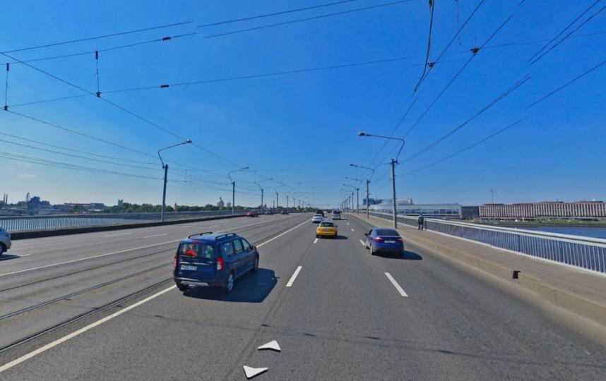 Мост Александра Невского. Фото Яндекс.Панорамы
