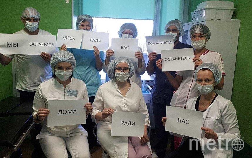 """Городская больница Святого Георгия перепрофилирована в инфекционную 16 марта. Сюда везут больных с подозрением на пневмонию, грипп и ОРВИ – тех, кто не посещал в последнее время другие страны. Фото Алена Бобрович, """"Metro"""""""