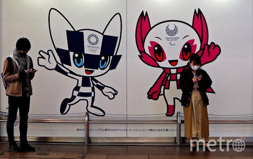 Перенесённая Олимпиада сохранит название «Токио-2020», и олимпийский огонь останется в Японии. Фото Getty