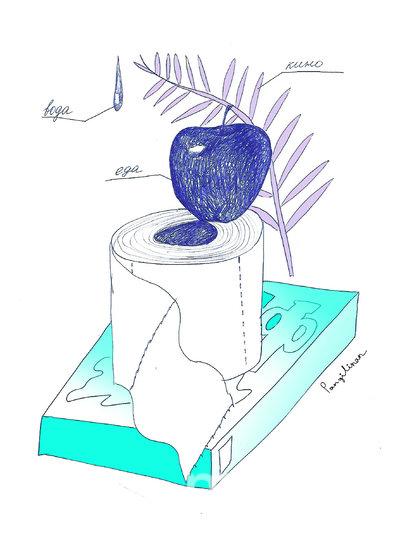 Набор для самоизоляции: еда, фильмы, туалетная вода, порошок стиральный, вода. Фото предоставила Пангилинан Натали-Кейт | instagram @nataliekatepangilinan