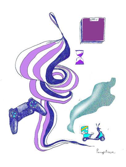 Набор для самоизоляции: терпение, яндекс лавка, новые игры на playstation, новые моушен дизайнеры, диета. Фото предоставила Пангилинан Натали-Кейт | instagram @nataliekatepangilinan