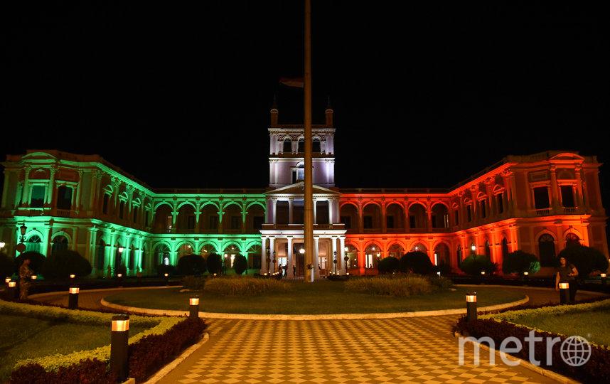 Дворец Лопес в Парагвае. Фото AFP