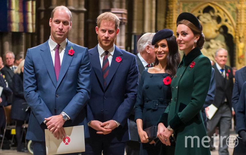 Герцоги Сассекские и Кембриджские. Фото Getty