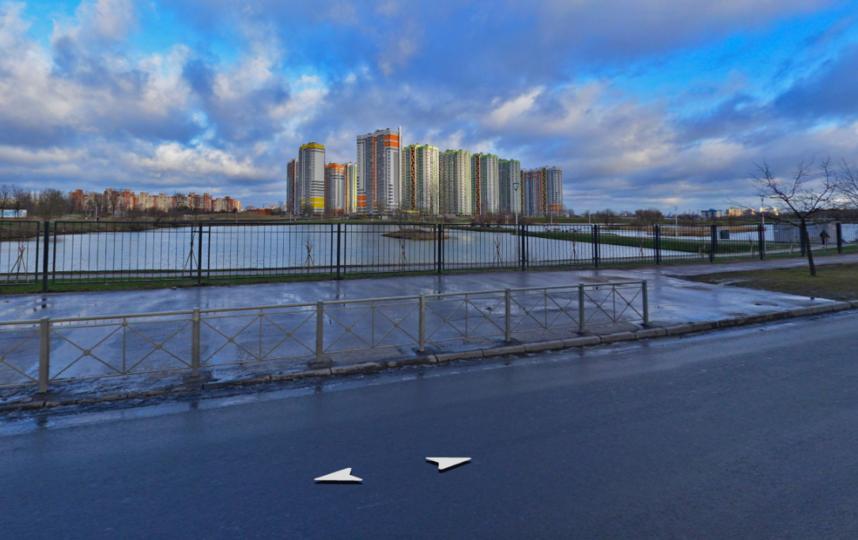 Купчинские карьеры. Фото Яндекс.Панорамы