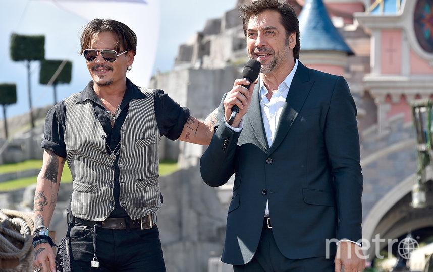 Джонни Депп и Хавьер Бардем. Фото Getty