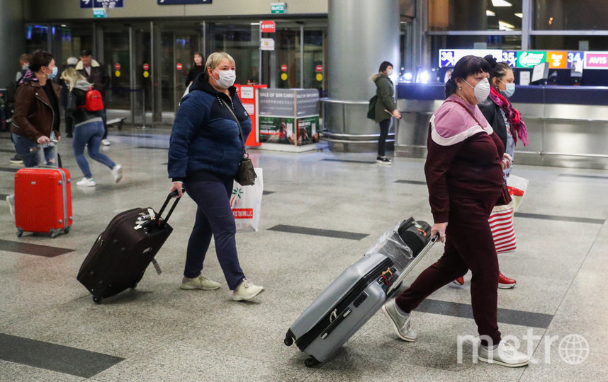 Россия прекратит авиасообщение с другими странами. Фото Getty
