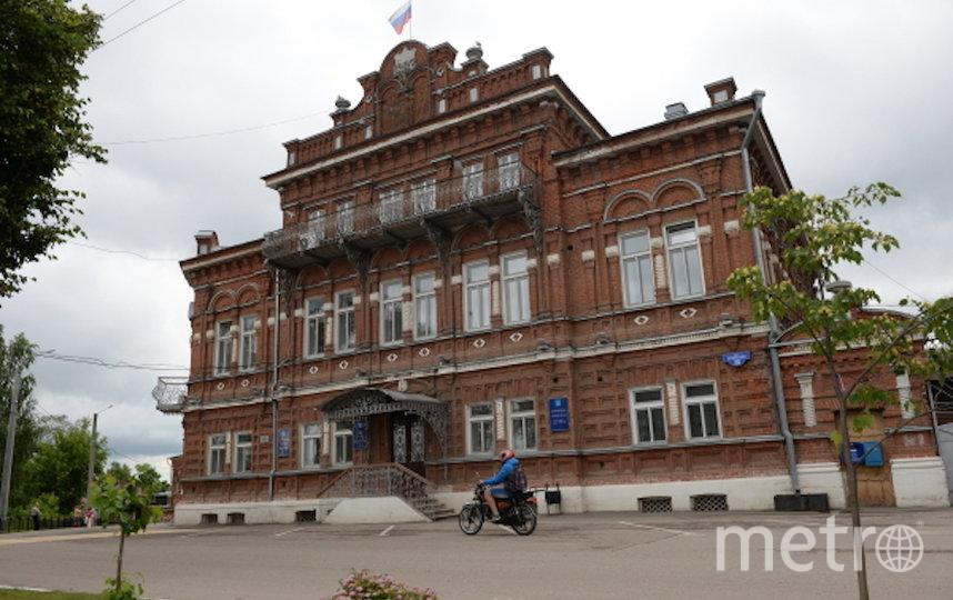 Здание городской администрации в Кургуне. Фото РИА Новости