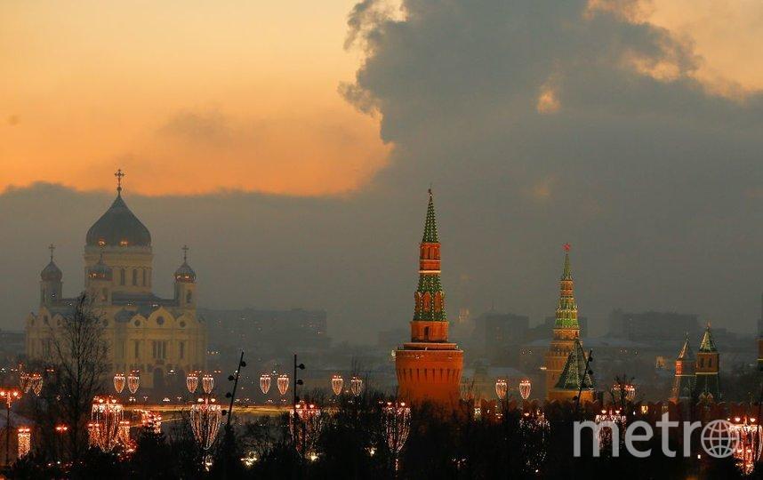 В Москве на следующей неделе ожидается снег. Фото Getty