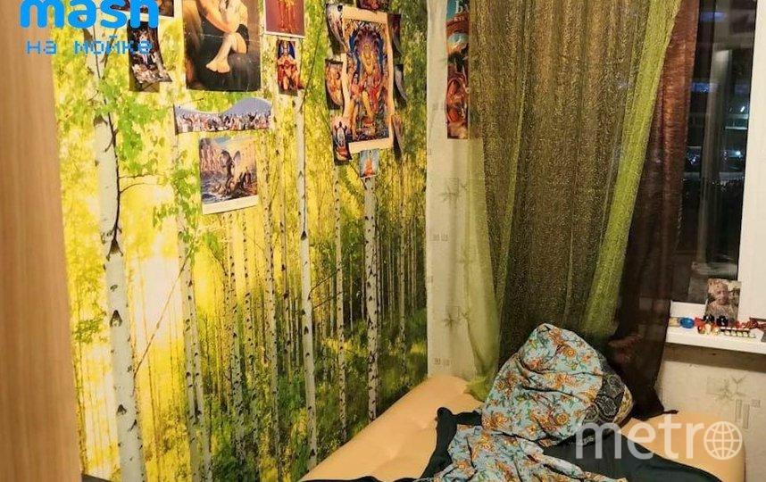 Комната задерженного. Фото mash.moyka, vk.com