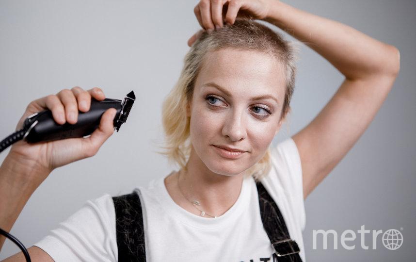 Ради роли Максимова побрилась налысо. Фото предоставлено видеосервисом START