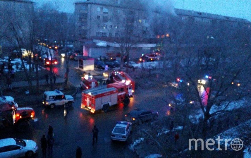 Пожар в пятиэтажке унес жизни двух человек. Фото Адрей Осян, vk.com/magnitkacity