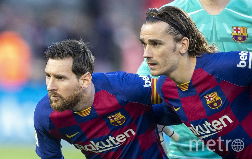 "Игроки ""Барселоны"" отказались от сокращения зарплаты из-за коронавируса. Фото Getty"