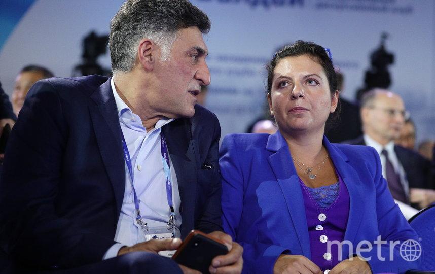 Тигран Кеосаян и Маргарита Симоньян. Фото Getty