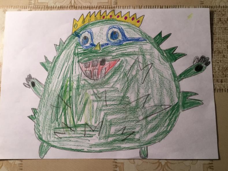 Читательница Metro Лиза прислала сказ про вирус. Фото Доронкина Лиза, 6 лет