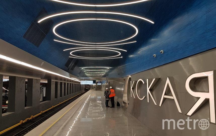 """Станция """"Окская"""". Фото Василий Кузьмичёнок"""