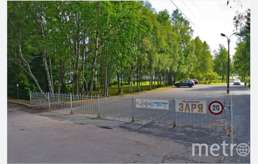 """Пансионат """"Заря"""" в Репино. Фото Яндекс.Панорамы"""
