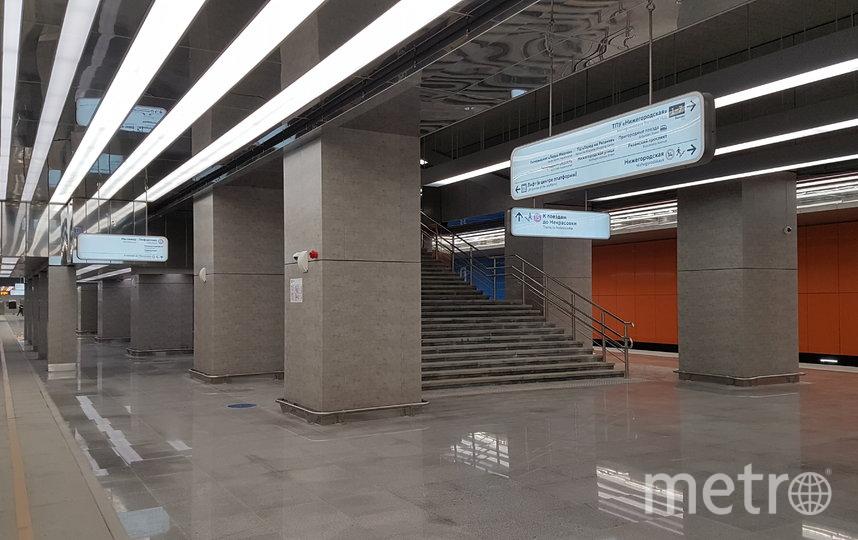 """Станция """"Нижегородская"""". Фото Василий Кузьмичёнок"""